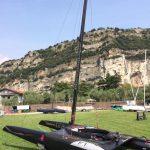 class a foils lac de garde regate sailing shore team