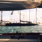voiles de st tropez bateau code 0 black pepper shore team services regates sailing