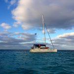 kitesurf nouvelle caledonie noumea peche skipper charter catamaran