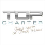 logo top charter port grimaud golf de st tropez skipper
