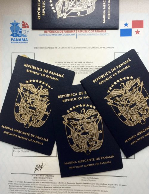 livret maritime panama ct stcw seaman book