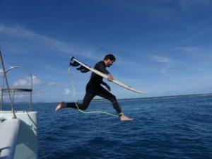nouvelle caledonie charter dal ocean surf